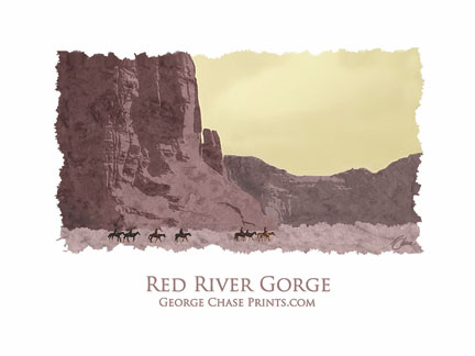 Red River Gorge Poster